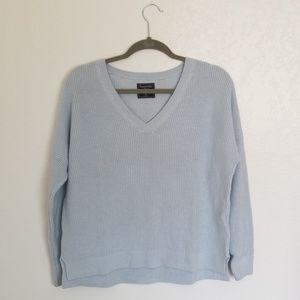 A&F blue sweater